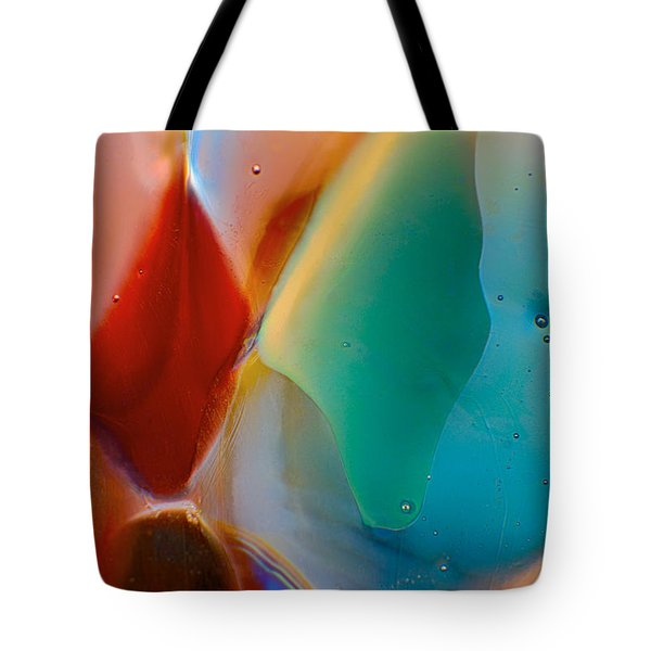 Red Fish Green Fish Tote Bag by Omaste Witkowski