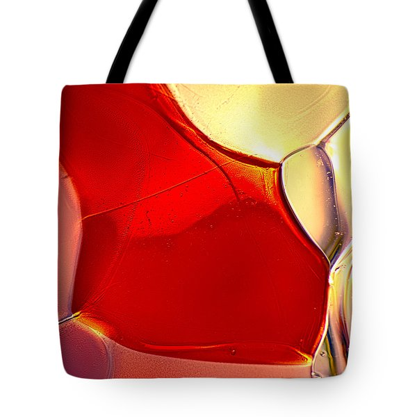 Red Fish Tote Bag by Omaste Witkowski