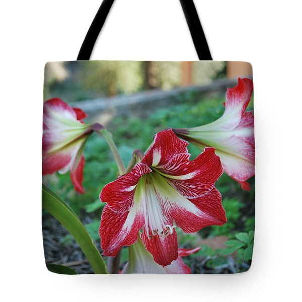 Red Flower 1 Tote Bag