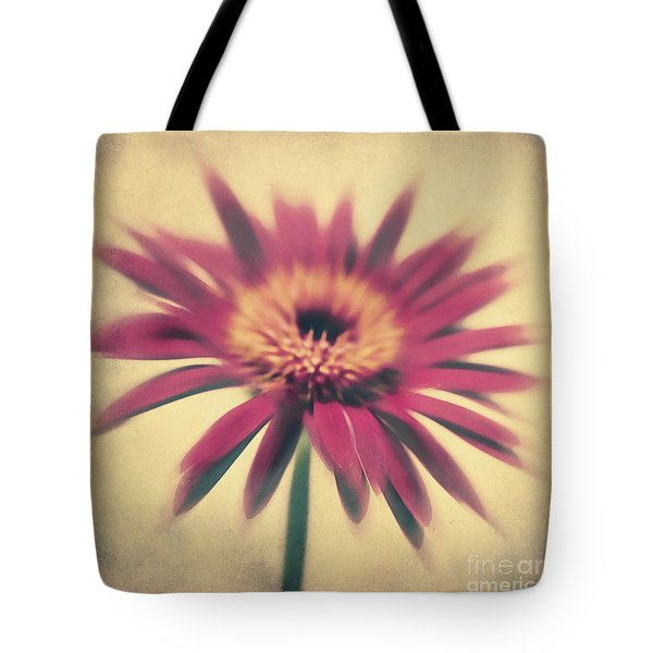 Red Gerbera Tote Bag by Angela Doelling AD DESIGN Photo and PhotoArt