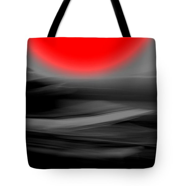 Red Giant Tote Bag by Terence Morrissey