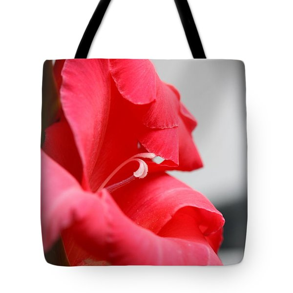 Lady In Red Tote Bag by Patti Whitten
