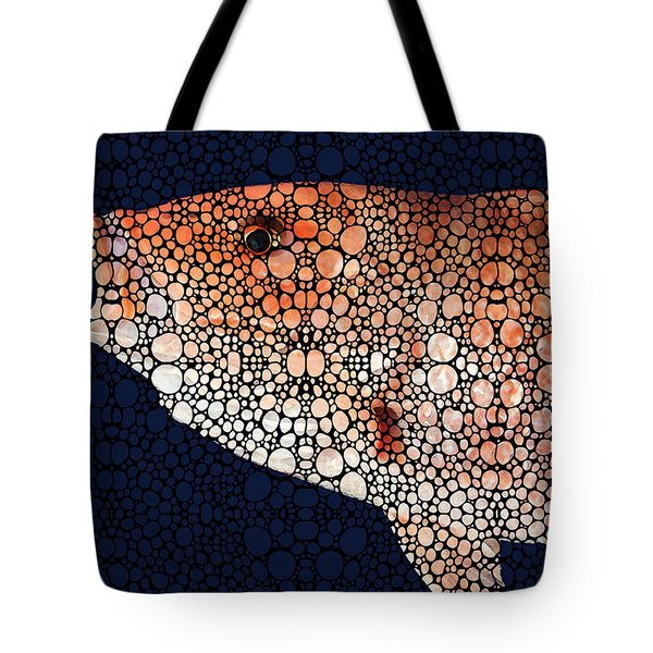 Red Grouper Fish - Florida Art By Sharon Cummings Tote Bag