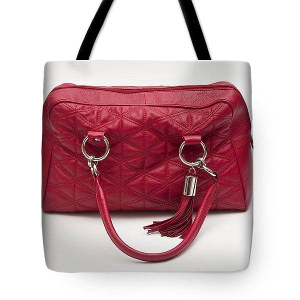 Red Handbag Tote Bag