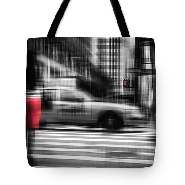 RED Tote Bag by Hannes Cmarits