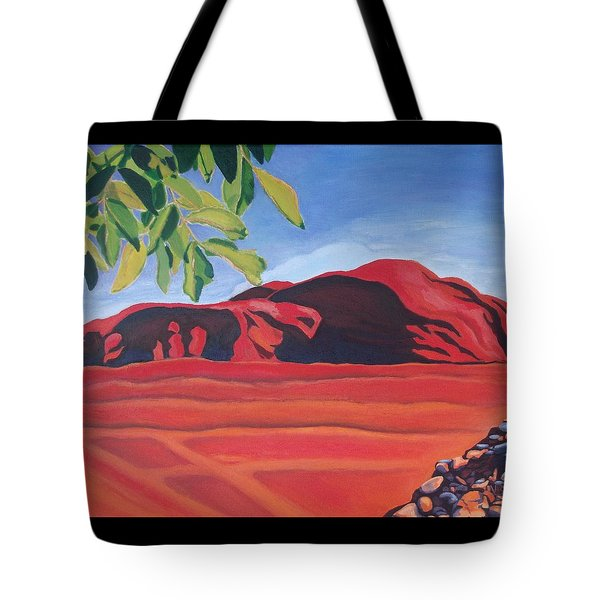 Red Hills In The Republic Of Georgia Tote Bag