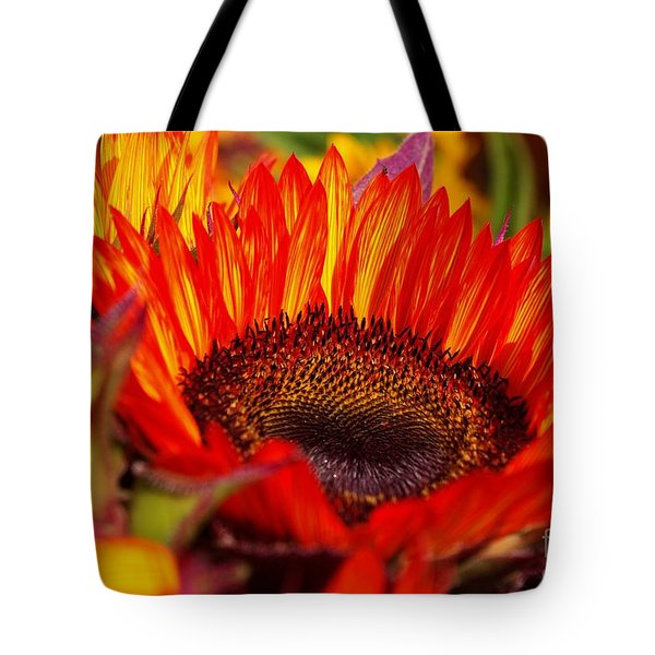 Red Hot  Tote Bag by John S