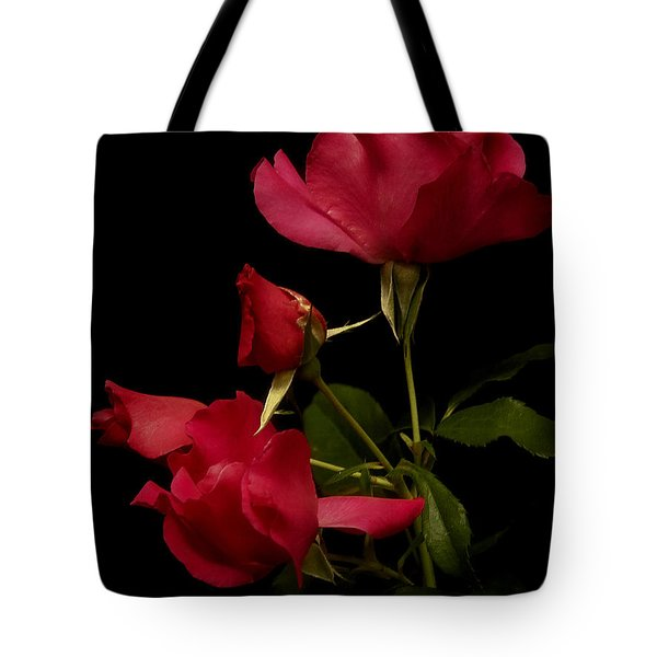 Tote Bag featuring the photograph Red Is For Passion by Lucinda Walter