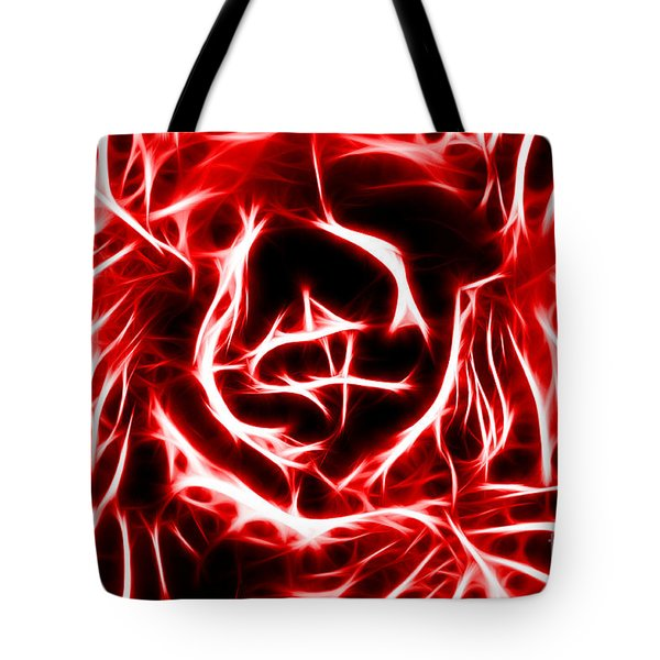 Red Lettuce Tote Bag