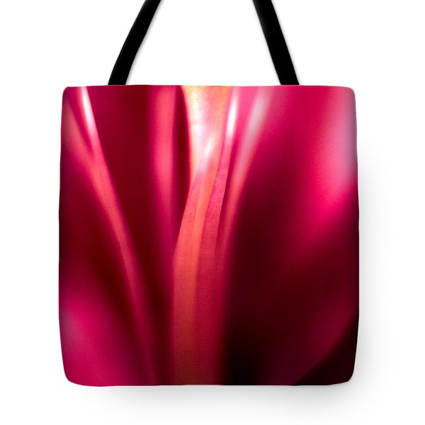 Red Lily  Tote Bag by Stelios Kleanthous