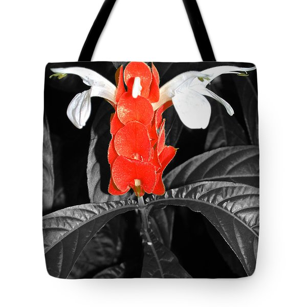 Red Lollipop Plant Tote Bag