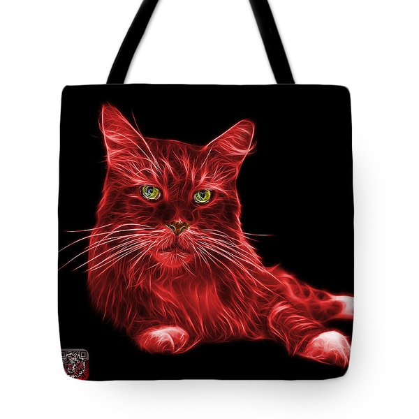 Red Maine Coon Cat - 3926 - Bb Tote Bag