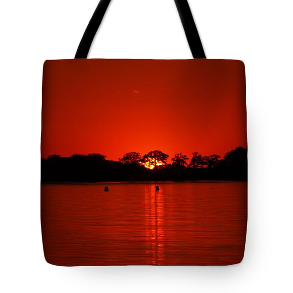 Tote Bag featuring the photograph Red by James Peterson