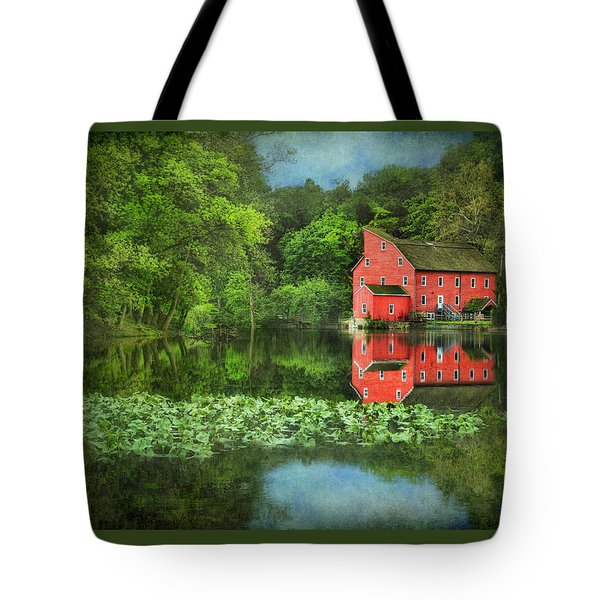 Red Mill Art Tote Bag