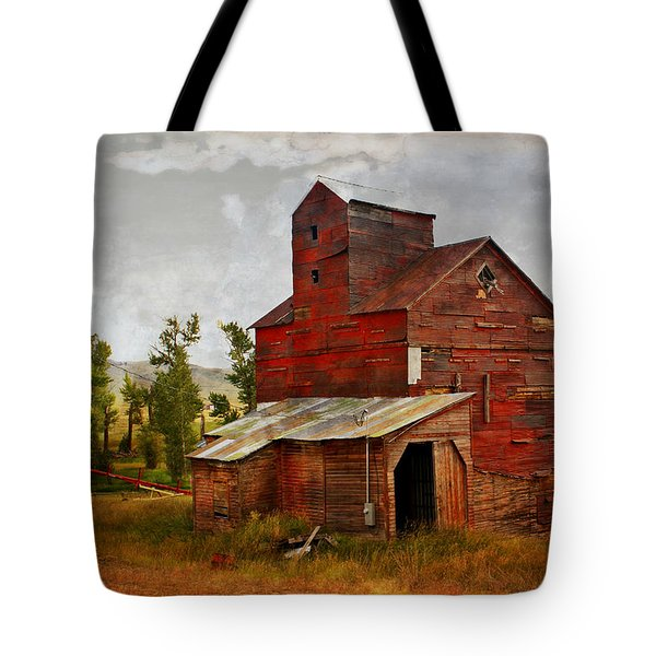 Red Mill Montana Tote Bag by Marty Koch
