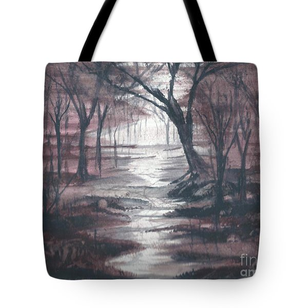 Red Mist  Tote Bag