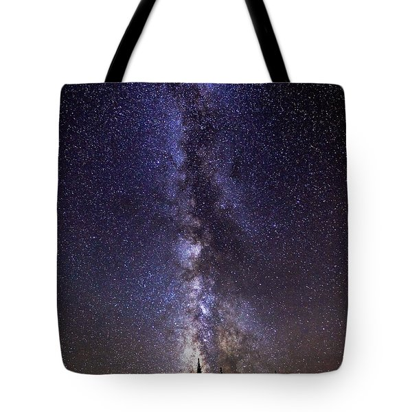 Red Mountain Milky Way Tote Bag