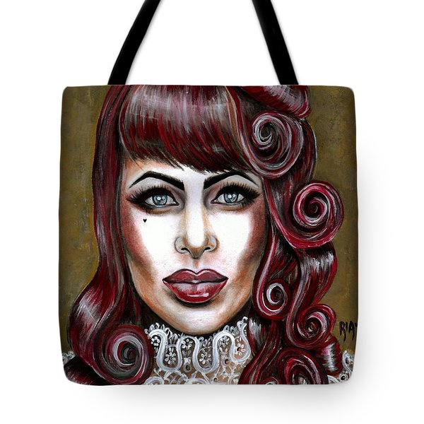 Red Muneca Tote Bag