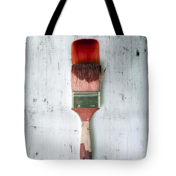 Red Paint Tote Bag by Joana Kruse