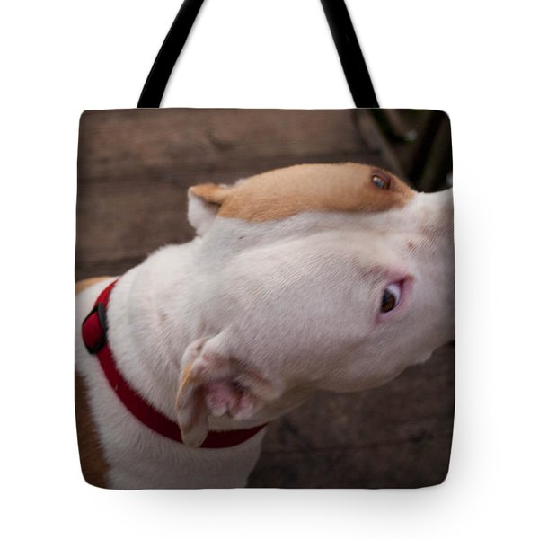 Red Pit 3 Tote Bag
