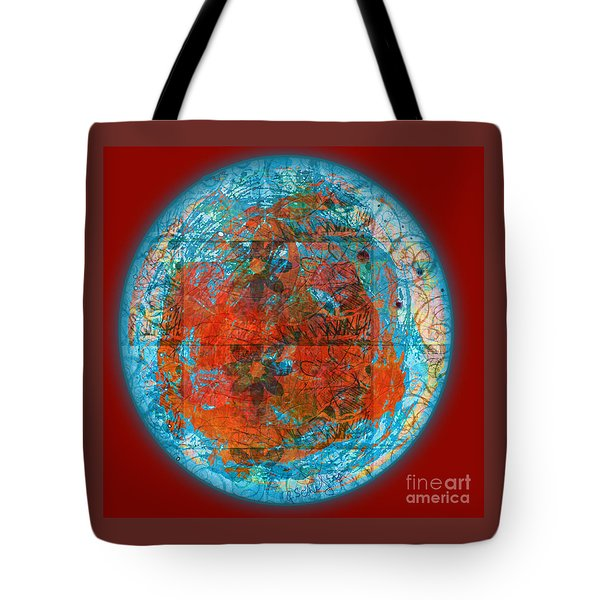 Red Plate Tote Bag