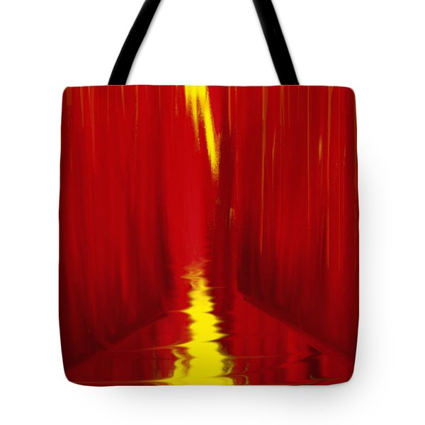 Red Reed River Tote Bag