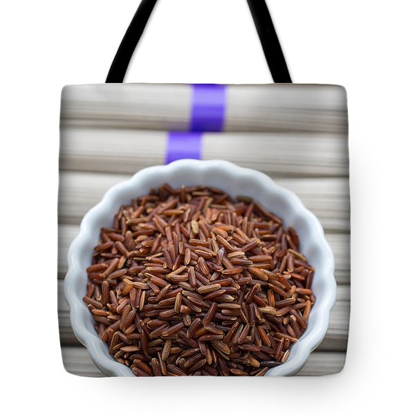 Red Rice Tote Bag by Edward Fielding