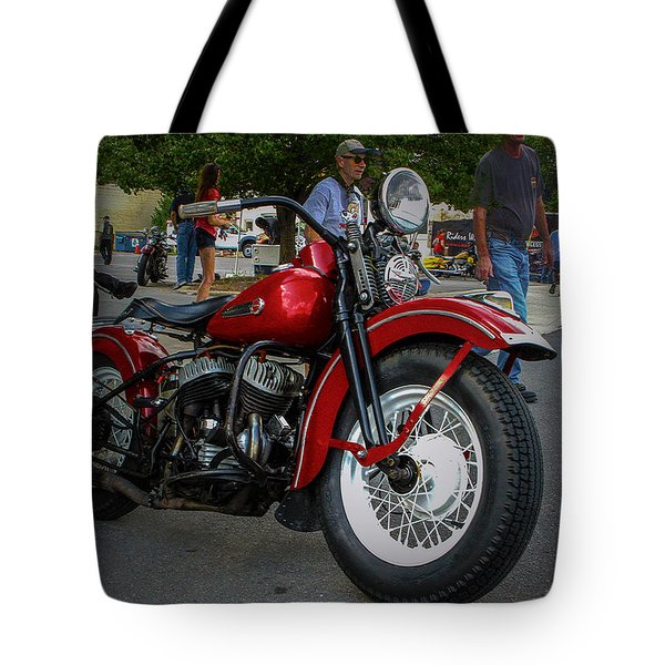 Red Rider Tote Bag