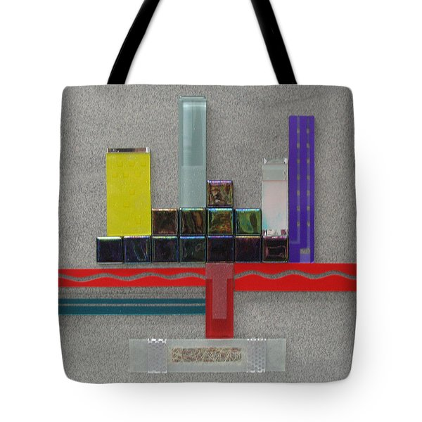 Red River City Tote Bag by Elaine Booth-Kallweit