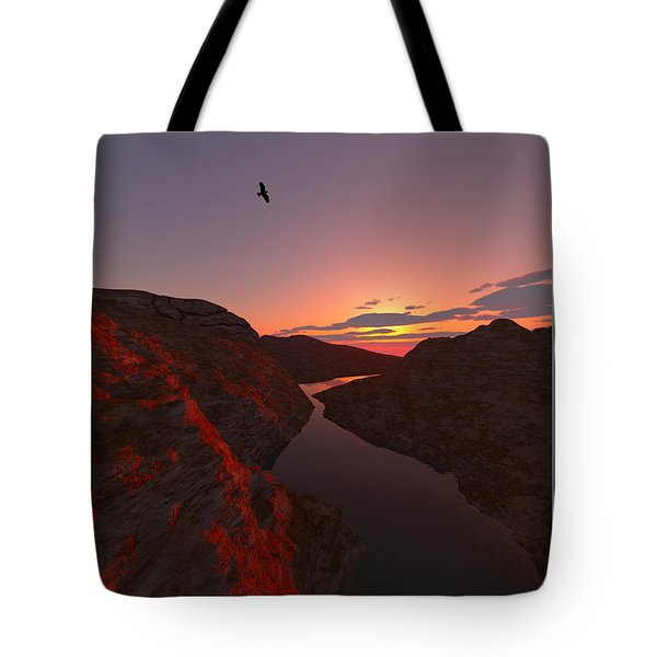 Red River... Tote Bag by Tim Fillingim