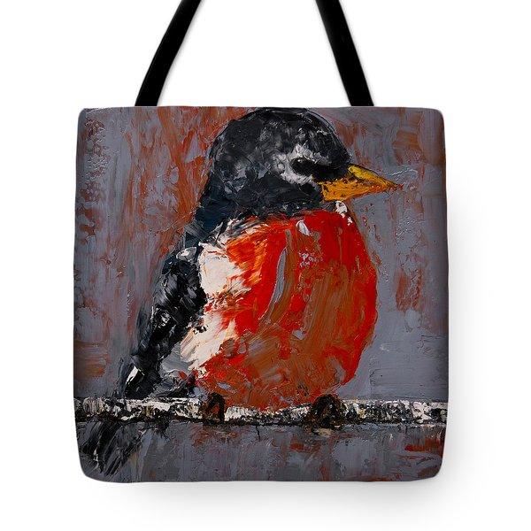 Red Robin Tote Bag