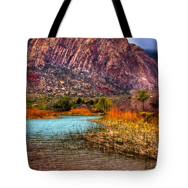 Red Rock Canyon Conservation Area Tote Bag