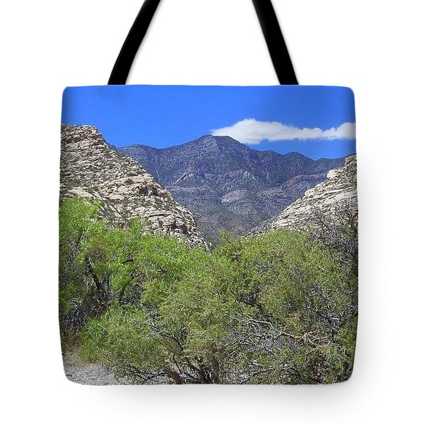 Red Rock Canyon View 1 Tote Bag