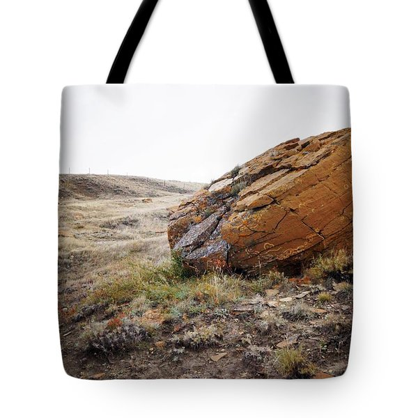 Red Rock Coulee IIi Tote Bag by Leanna Lomanski
