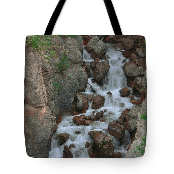 Red Rock Falls Tote Bag