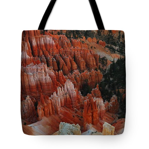 Red Rock Tote Bag by Jeff Swan