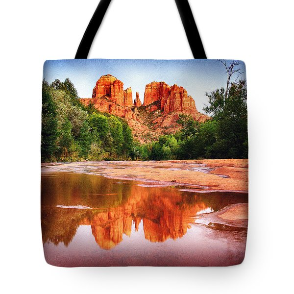 Red Rock State Park - Cathedral Rock Tote Bag