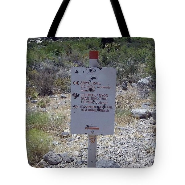 Red Rock Trails Tote Bag