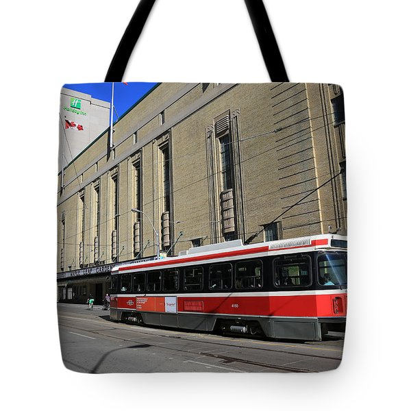 Red Rocket 23 Tote Bag by Andrew Fare