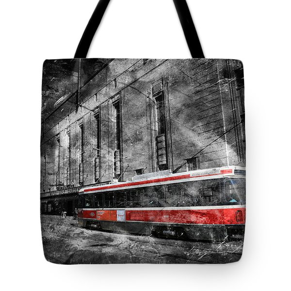 Red Rocket 23d Tote Bag by Andrew Fare