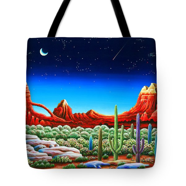 Red Rocks 5 Tote Bag
