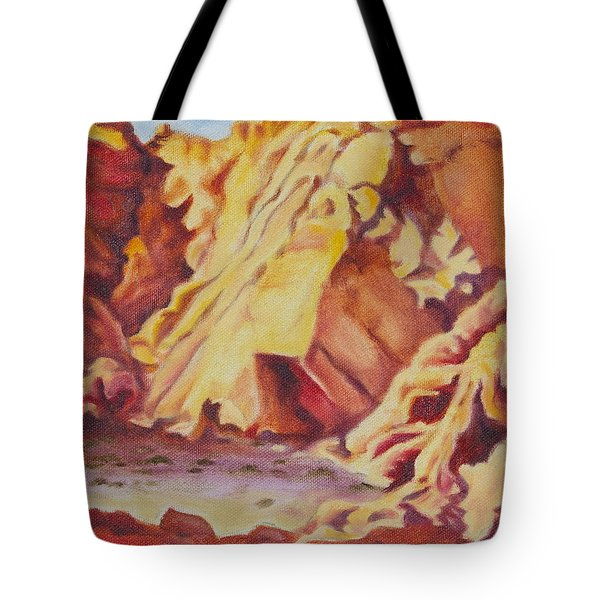 Red Rocks Tote Bag