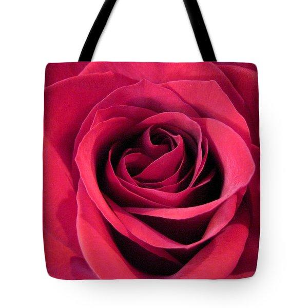 Red Rose Christmas Love Tote Bag