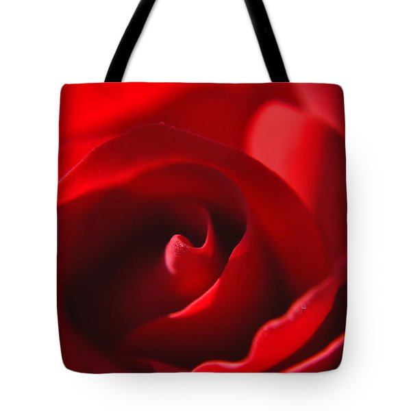 Tote Bag featuring the photograph Red Rose by Tikvah's Hope