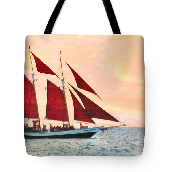 Red Sails Sunset Tote Bag