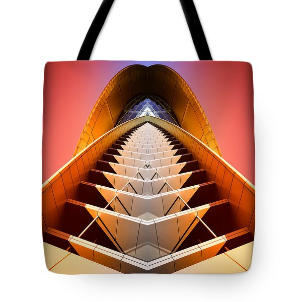 Red Shift Tote Bag