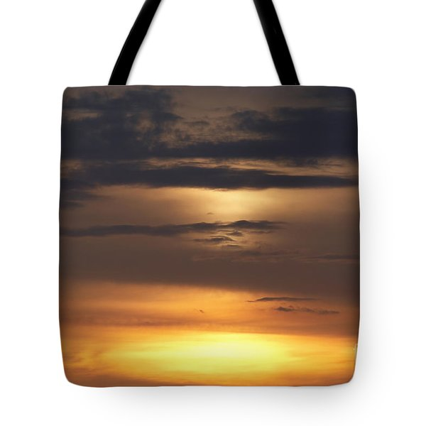 Red Sky - Gloaming Tote Bag by Michal Boubin