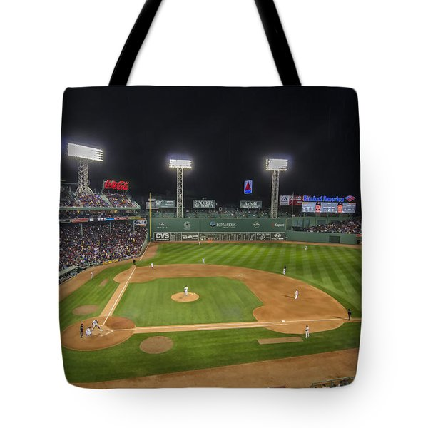 Red Sox Vs Yankees Fenway Park Tote Bag