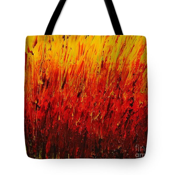 RED Tote Bag by Teresa Wegrzyn