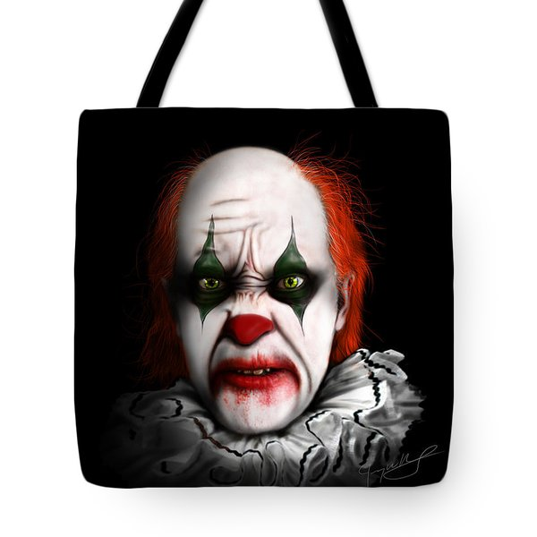 Red The Clown Tote Bag
